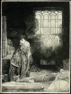 [Doctor Faustus, Faust in His Study Watching a Magic Disk]