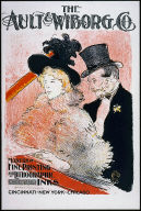 Au: Concert Poster for the Ault & Wiborg Co.