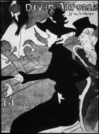 Poster for the cabaret Divan Japonais