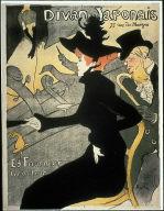 Poster for the cabaret Divan Japonais, published version