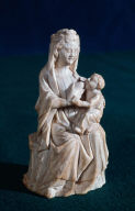 Seated Virgin nursing Child