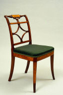 One of a pair of Side chair, Neoclassical