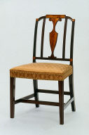 Side chair, one of a pair