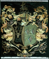 Coat-of-arms: Parker and Freeman