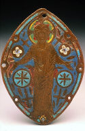 Plaque with Standing Christ
