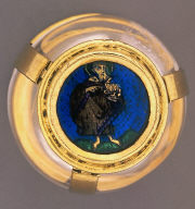 Container with Saint John the...
