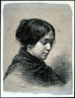 Madame J.-F. Millet (Catherine Lemaire)