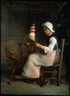 Seated Spinner (Emélie Millet)