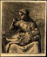 [Study for Woman Feeding a Child, Study for Woman Feeding a Child]