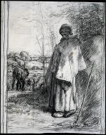 Study for Shepherdess Knitting (La Grande Bergère)