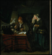 Userer with a Tearful Woman