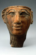 Face from an anthropoid coffin