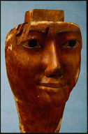 Face from a coffin