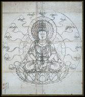 [Iconographic Drawing of Miroku, the Buddha of the Future, Miroku nyorai zuzo]
