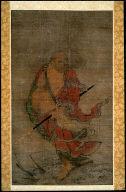 Bodhidharma (Daruma) on a Reed