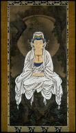 [Byaku-e Kannon, the White-robed Bodhisattva of Compassion, Byakue Kannon zu]