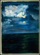 Moonlit Seascape