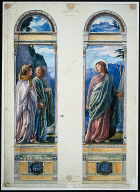 Christ and the Pilgrims (Studies for Memorial Windows to Mr. and Mrs. Wi