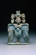 Amulet of a winged goddess