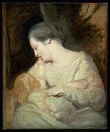 Mrs. Richard Hoare Holding her Son, Henry