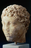 Head of an Arab or African