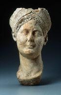 Portrait head of a Trajanic woman