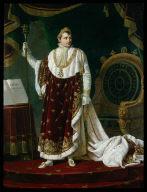 Napoleon in his Coronation Robes