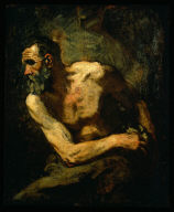 A Miser (study for Timon of Athens)