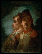 Two Soldiers (study for Enrollment of the Volunteers)