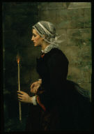 Woman with a Taper