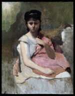 Woman with a Pink Shawl