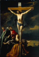 The Crucifixion with the Virgin, Saints John, and Mary Magdalene