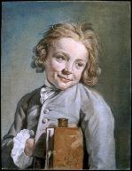 Portrait of a Boy Holding a Portfolio (Le Jeune ??colier)