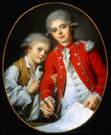 Portrait of Two Boys (The Autichamp Brothers?)