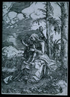 Virgin and Child Seated in a Landscape