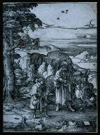 Abraham allant sacrifier son fils