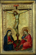 Crucified Christ with the Virgin and Saint John the Evangelist