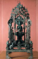 Altarpiece with Amitabha and attendants