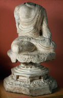 Torso of seated Buddha