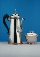 Coffee Pot and Sugar Bowl
