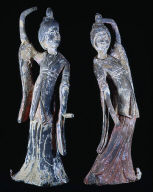 Figure of dancing woman