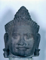 Head of a Deva, from the balustrade of a gateway
