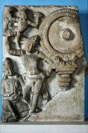 Worship of the Dharmachakra (Wheel of the Buddha Law)