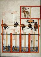 "Water Wheel from al-Jazari's ""Ingenious Mechanical Devices"""