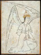 [Seated Angel, A Peri]