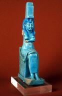 Figurine of Isis with child Horus