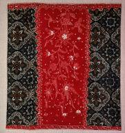 Kain dua negri [cloth of two countries] tubular sarong (skirt cloth)