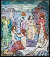 Eight Bathers