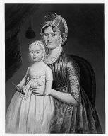 Mrs. Cephas Smith, Jr. (Mary Gove) and Child