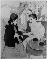 [Femme debout a sa toilette, 1891, Woman Bathing [La Toilette]]